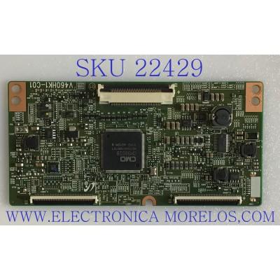 T-CON PARA TV SAMSUNG / 35-D065587 / V460HK1-C01 / PANEL LD550CSC-C1 / MODELO UN55D6900WFXZA CN03