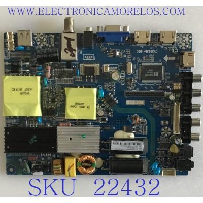 MAIN FUENTE (COMBO) PARA TV WESTINGHOUSE / 53H0535 / CV3393BH-B50 / LTE50352 / PANEL LA500N082L / MODELO WD50FC1120