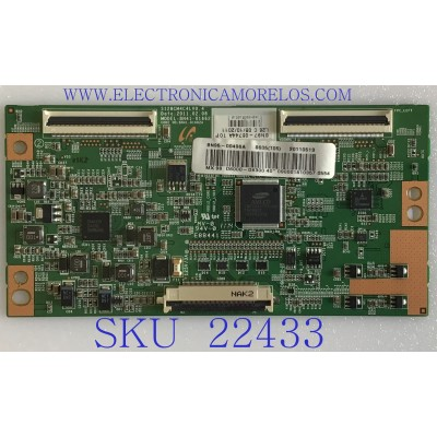 T-CON PATA TV SAMSUNG / BN95-00496A / BN41-01662A / BN97-05744A / PANEL LTJ400HF1-J / MODELO UN40D6000SFXZA H302