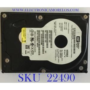 DISCO DURO WESTERN DIGITAL / WD2500JS-60NCB1 / 488397168 / 250.0 GB / 2061-701335-B00