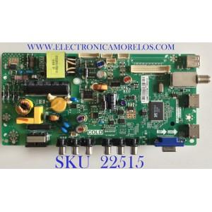 MAIN FUENTE ((COMBO)) PARA TV TCL / L14070083 / TP.MS3393T.PB710 / V8-MS39PVN-LF1V007 / PANEL LVW320CS0T E166 V1 / MODELO 32B2800