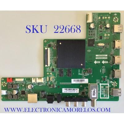 MAIN PARA TV ATVIO / B18031743 / T.MS6586.U781 / B18031743-0A00169 / 1MS586A2 / 02-MW286A-C017000 / 55D1850 / ESTA TARJETA ES CHINA Y ES UTILIZADA EN DIFERENTES MARCAS Y MODELOS / ENTRAR A DESCRIPCIÓN DEL PRODUCTO