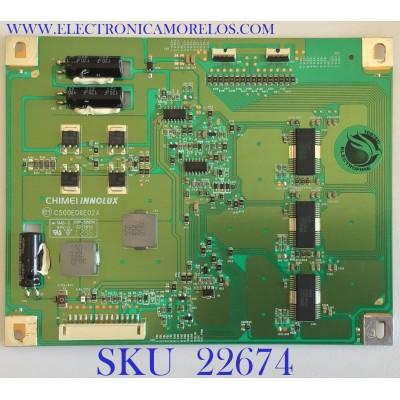 LED DRIVER PARA TV PANASONIC / 27-D082654 / C500E06E02A / MODELO TC-L50E60