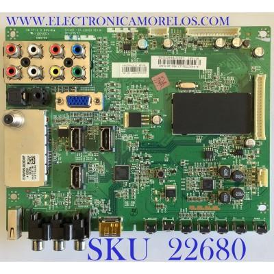 MAIN PARA TV TOSHIBA /461C2751L13 / VTV-L32603 REV.1A / 431C2751L12 / PANEL LTA400HA11 / MODELO 40E200U1