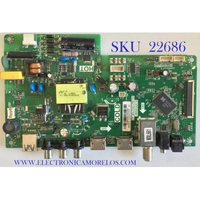 MAIN FUENTE PARA TV HKPRO / B16043260 / TP.MS3393.PB786 / 3MS93AX18 / 02-SH893B-C003000 / MODELO HKP32F16 / ESTA TARJETA ES CHINA Y ES UTILIZADA EN DIFERENTES MARCAS Y MODELOS / ENTRAR A DESCRIPCIÓN DEL PRODUCTO