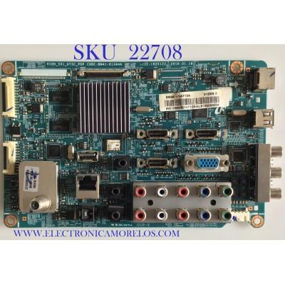 MAIN PARA TV SAMSUNG / BN96-14713A / BN41-01344A / SUSTITUTAS BN94-03262G / BN94-03775B / BN96-15072A / PANEL S50FH-YB06 / MODELO PN50C550G1FXZA