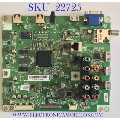 MAIN PARA TV PHILIPS / A11P7MMA-001-DM / BA11P4G0401 1_1 / A11P7UH / PANEL LTA400HM13 / MODELO 40PFL4706/F7 DS3 / 40PFL4706/F7 XA1