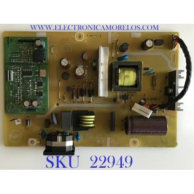 FUENTE DE PODER PARA MONITOR ASUS / A1604QCU / 715G3647-P01-001-001R / (T)A1604QCU / PANEL LM250WF2(TL)(A1) / MODELO VE258Q