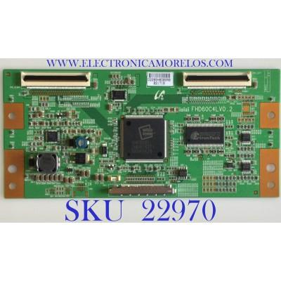 T-CON PARA TV SAMSUNG / LJ94-02285H / FHD60C4LV0.2 / 2285H / MODELO LN40A530P1FXZA