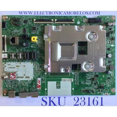MAIN PARA TV LG / 4K UHD SMART TV RESOLUCION (3840 x 2160) / EBT66077501 / EAX68382502(1.0) / RU92S5A0HS / PANEL NC550EQH-AAHH1 / MODELO 55SM8600PUA.BUSYLJR