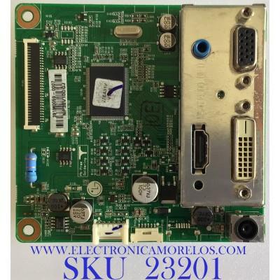 MAIN PARA MONITOR LG / 27EA31V-BD.AUSHMVN / 391M0059-0007 / NP38V10DGJ / PANEL LM270WF5 (SL)(C1) / MODELO 27EA31V-BD.AUSHMVN