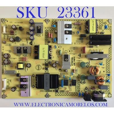 FUENTE DE PODER PARA TV ACER / GQ351XASS / 715G8023-P02-002-003S / (Q)GQ351XASS / PANEL TPT430U3-EQYSHM.G REV:S1M / MODELO ET430K WMIIQPPX