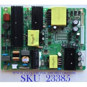 FUENTE  DE  PODER PARA TV W BOX / P0Q18080177-0502 / K-PL-FH1 / 9012-11245-20004341 / PANEL K490WDC2LU330A300 / MODELO 0E-49LED4K