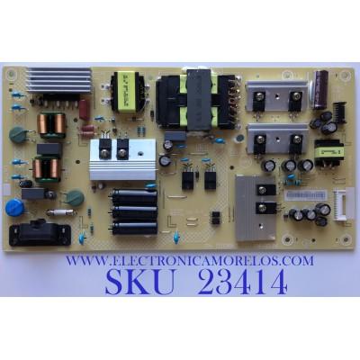 FUENTE DE PODER PARA SMART TV INSIGNIA / PLTVJW321XXGE / 715G8967-P01-014-003M / (X)PLTVJW321XXGE / PANEL TPT550U2-D132.L REV:S21B / MODELO NS-55DF710NA21