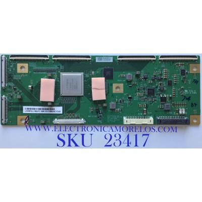 T-CON PARA TV SONY / 6871L-6385A / 6870C-0848A / 6385A / LE650PQL (HN)(A1) / PANEL YDAS065UNG01 / MODELO XBR-65A8H