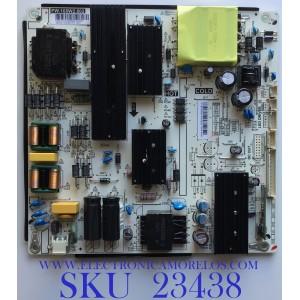 FUENTE DE PODER PARA TV ONN / 380GLP30204CT0 / PW.168W2.802 / G19030056 / P30204CT0G19030056 / PANEL TPT650J1-QUBF90.K REV:9WP0B / MODELO ONA65UB19E07
