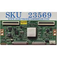 T-CON PARA TV SONY / 6871L-45091E / 20Y_S65JU22MQV0.1 / 45091E / PANEL YDAF055DND01 / MODELO XBR-55X900H