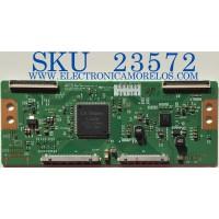 T-CON PARA TV LG / 6871L-3619C / 6870C-0484A / 3619C / PANEL LC650DUF ( FG)(F1) / MODELO 65LB7100 - UB