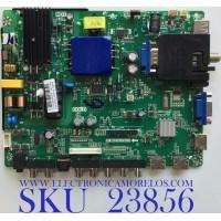 MAIN FUENTE PARA TV SCEPTRE  / NUMERO DE PARTE X435BV-FSR / TP.MS3553.PB753 / T201710068B / 8142123352138 / HV430FHB-N10 / C17120068 / PANEL HV430FHB-N10 / MODELO H43 ULTV53DC