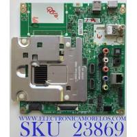 MAIN PARA SMRAT TV LG 4K UHD CON HDR RESLUCION (3840 x 2160) / NUMERO DE PARTE EBT64436202 / EAX66882503 (1.0) / PANEL LC600EGE (FJ)(M3) / MODELO 60UH6035-UC.BUSWLJR