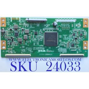 T-CON PARA TV ELEMENT / NUMERO DE PARTE  6S280MG0U011 / ST5461D07-1-C-3 / PANEL ST5461D07-1-XR-2 / MODELO E4STA5517