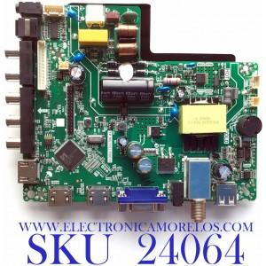 MAIN FUENTE PARA TV ELEMENT / NUMERO DE PARTE  U18112764 / TP.MS3553.PB819 / U18112764-0A04342 / PANEL C320X18-E8C-H / MODELOS ELFW328 / ELEFW328