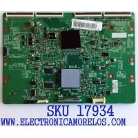 T-CON PARA TV SAMSUNG / NUMERO DE PARTE BN95-00629B / BN41-01816A / BN97-06552B / PANEL LE600CSS-V1 / MODELO UN60ES6500FXZA HS01