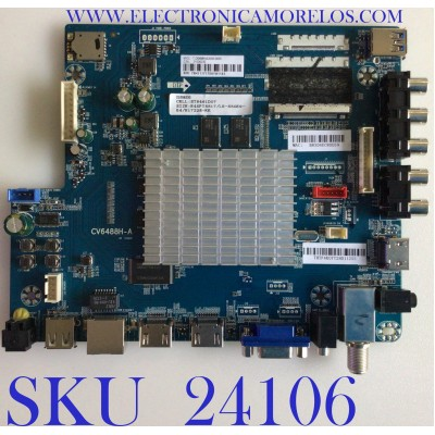 MAIN PARA TV ELEMENT / NUMERO DE PARTE E17228-KK / CV6488H-A / 21006232 / 7.D6488HA2000.0000 / 78H1117 / PANEL ST5461D07-1 / MODELO E4SFT5517 J7M0M