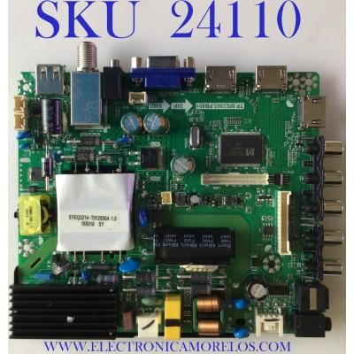 MAIN FUENTE (COMBO) PARA TV ELEMENT / NUMERO DE PARTE L17030928 / TP.MS3393.PB801 / V500HJ1-PE8 / 170331 / E17067-SY / PANEL T500-V35-DLED / MODELO ELFW5017 D7A0M0