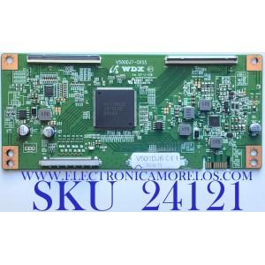 T-CON PARA TV ELEMENT / NUMERO DE PARTE  V500DJ6-QE1 / V500DJ7-CKS5 / PANEL MD500SYTIF / MODELO ELFW5017