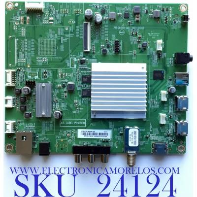 MAIN PARA ROKU TV ELEMENT / NUMERO DE PARTE 756TXICB01K003 / XICB01K003 / 715G8501-M01-B00-005T / PANEL TPT550F2-PU2L01.Q REV:S01G / MODELO E4SW5518RKU C8D0U