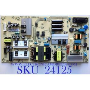 FUENTE DE PODER PARA TV ELEMENT·ROKU TV 4K UHD SMART TV / NUMERO DE PARTE PLTVHW321XAE2 / 715G8967-P01-005-003M / HW321XAE2 / PANEL TPT550F2-PU2L01.Q REV:S01G / MODELOS E4SW5518RKU C8D0U / E4SW5518RKU D8D0U