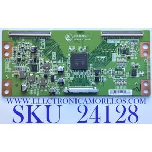 T-CON PARA TV ELEMENT / NUMERO DE PARTE ST5461D07-1 / 1708CSAF01 / ST5461D07-1. / ST775A1-4. 0 / ST775A1-4 / 02650100010002 / PANEL MD5541YTCF / MODELO ELEFW5517 J7M0M