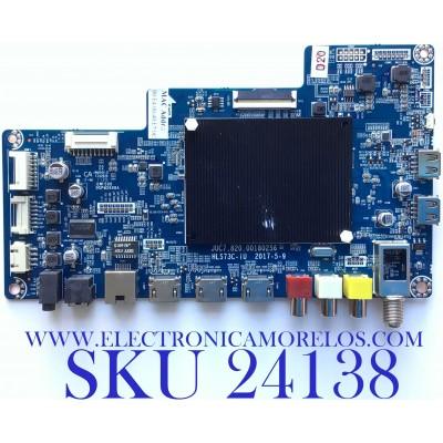 MAIN PARA TV ELEMENT NUMERO DE PARTE 998H7PT / JUC7.820.00180256 / HLS73C-UI / PANEL C500U17-E61-A(G11) / MODELO E4SW5017RKU