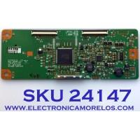 T-CON PARA TV HP / NUMERO DE PARTE 6871L-1837L / 6870C-0291B / 1837L / PANEL LM270WF1 (TL)(C1) / MODELO 2710M