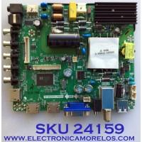 MAIN FUENTE PARA TV ELEMENT / NUMERO DE PARTE K17041498 / TP.MS3393.PB801 / K17041498-0A01096 / E17098-SY / 06NC6 / 20170427_142355 / PANEL T500-V35-DLED / MODELO ELFW5017 E7A4M
