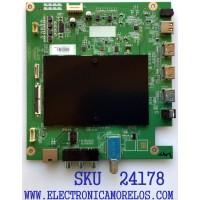 MAIN PARA TV TOSHIBA / NUMERO DE PARTE 631V0Q001B0 / VTV-L55736 / 631V0Q001B0 REV:C1 / 7160248-5 / VTV-L55736 REV:1 / PANEL K430WDCRA-UF300A5 / MODELO 43LF621U21
