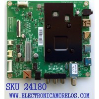 MAIN PARA TV INSIGNIA / NUMERO DE PARTE XKCB02K060 / 715GA715-M01-B00-005G / KSA550007 / 5046455M1534 / PANEL TPT550U1-QVN05.U REV:S57B1BC / MODELO NS-55DF710NA21