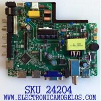 MAIN FUENTE (COMBO) PARA TV ELEMENT / NUMERO DE PARTE J18113459 / TP.MS3553.PB819 / 2605634A0 / PANEL C320X18-E8C-H / MODELO ELEFW328
