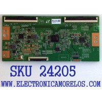 T-CON PARA TV TCL / NUMERO DE PARTE LJ94-43682C / 18Y_R75HU11P2TA6AV0.0 / 43682C / PANEL LVU750NDBL / MODELOS 75S425 / 75S421