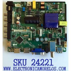 MAIN FUENTE (COMBO) PARA TV ELEMENT / NUMERO DE PARTE W17080874 / 21006192 / TP.MS3353.PB801 / T550HVN08.4 / 20170815_103723 / E17212-3-KK / PANEL MD5534YTAF / MODELO ELEFW5017 H7AAM