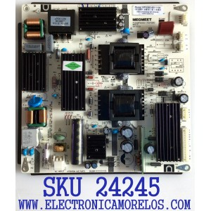 FUENTE DE PODER PARA TV ELEMENT / NUMERO DE PARTE MP5055-65V1100 / MP5055-70V1000 / 104100013 / E255554 / KB-5150 / PANEL T500-TAU-DLED / MODELO E2SW5018