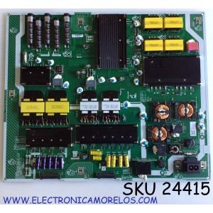 FUENTE DE PODER PARA TV SAMSUNG QLED SMART TV / NUMERO DE PARTE BN44-01033A / BN4401033A / LS559NA_TSM / ST55F271D3/WVD / ST55F271D3 / E153263 / PANEL CY-TT055FLAV2H / MODELOS QN55Q90 / QN55Q90TAFXZA / QN55Q90TAFXZA AA01 / QN55Q90TAFXZA AB02
