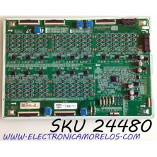 LED DRIVER (R) PARA TV SAMSUNG QLED 8K UHD HDR SMART TV / NUMERO DE PARTE BN44-01070B / L82S8SND_THS / BN4401070B / PANEL'S  CY-TT082JMLV1H / CY-TT082JMLV4H / MODELO QN82Q800 / QN82Q800TAFXZA / QN82Q800TAFXZA FF02