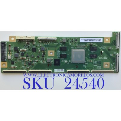 T-CON PARA TV LG / NUMERO DE PARTE 6871L-6088E / 6870C-0280A / 6088E / LE650AQD-EMA1-Y33 / P8SB9C000L07C10 / PANEL LE650AQD (EM)(A3) / MODELO OLED65C9PUA.BUSYLJR / OLED65C9PUA
