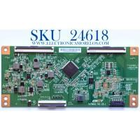 T-CON PARA TV INSIGNIA 4K UHD SMART FIRE TV / NUMERO DE PARTE CV700U1-T01-CB-1 / C17104SS0008G / E255400 / AB23554 / E3CCBB7000020 / E3CCBB7000020TC8X9BR08QEH / PANEL TPT700B5-U1T01.D REV:S01BD / MODELO NS-70DF710NA21