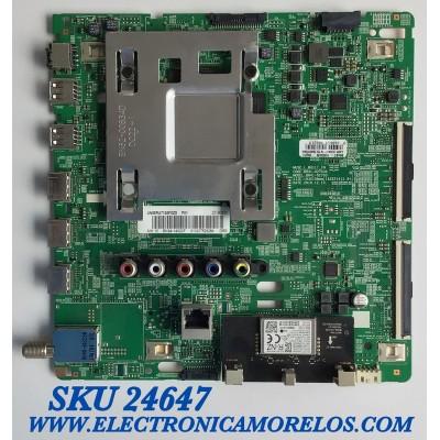 MAIN PARA SMART TV SAMSUNG 4K UHD RESOLUCION (3,840 x 2,160) / NUMERO DE PARTE BN94-14020F / BN41-02703A / BN97-15696B / 20190820 / 010207529284 / PANEL CY-NN055HGLV2H / MODELO UN55RU7100FXZX FA04