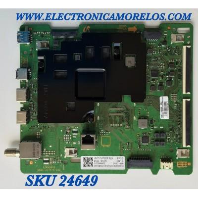MAIN PARA SMART TV SAMSUNG 4K UHD CON HDR RESOLUCION (3,840 x 2,160) / NUMERO DE PARTE BN94-16107K / BN41-02751B / BN96-52704A / BN97-18033A / 20201028 / 010226484632 / PANEL CY-BT075HGLV3H / MODELO UN75TU7000FXZA FA01
