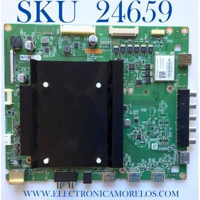 MAIN PARA TV VIZIO / NUMERO DE PARTE 0165CAQ04E00 / 1P-016C500-4013 / Y8387938S / 171124 / 217390 / PANEL S700DUA-3 / MODELO E70-E3 LFTRVRLT