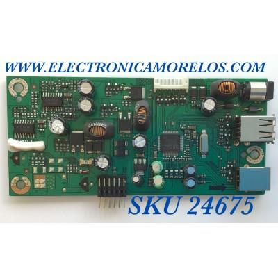 TARJETA USB PARA MONITOR DELL / NUMERO DE PARTE 5EL2H08001 / 4H.L2H08.A02 / 366582 / 02100 / PANEL LM201U05 / MODELO 2007FPB